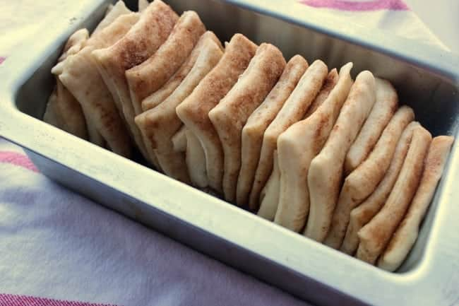 risen bread dough