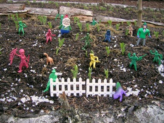 killing slugs in the garden