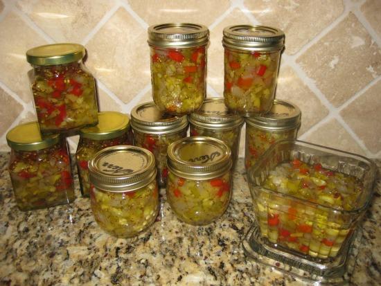 How to make zucchini relish