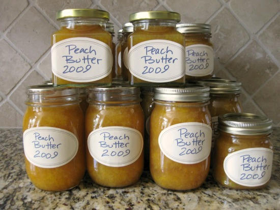Peach butter recipe