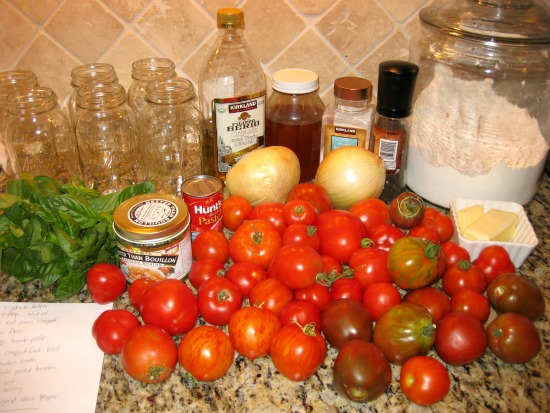 tomato basil soup recipe