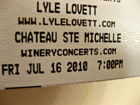 lyle lovett concert tickets