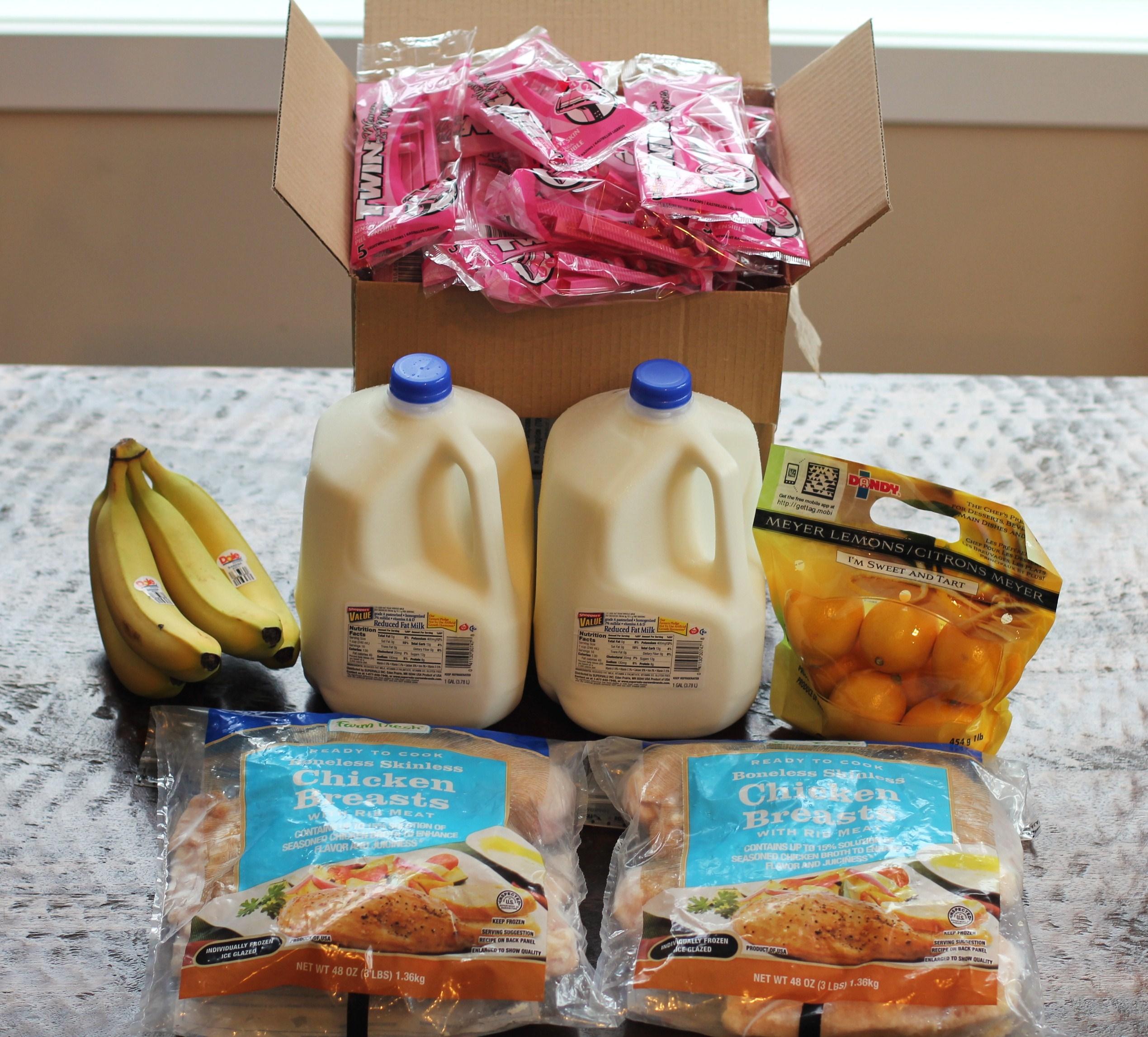 Mavis Scores FREE FOOD at Albertsons Again e Hundred Dollars