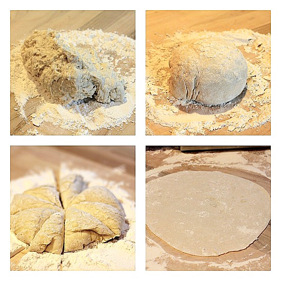 how to make homemade tortillas