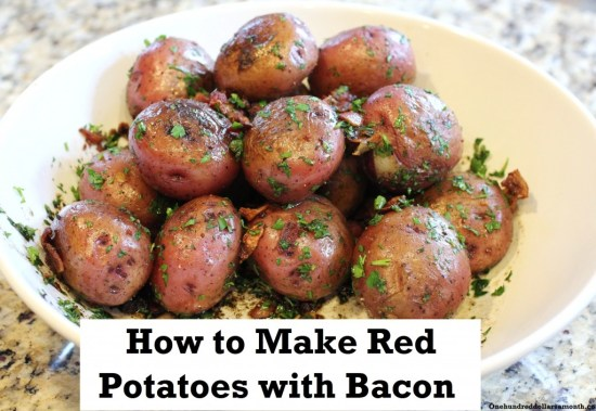 Red Potatoes with Bacon