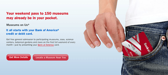 bank of american free muesum pass