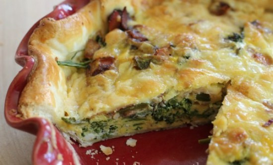 quiche broccoli cheddar