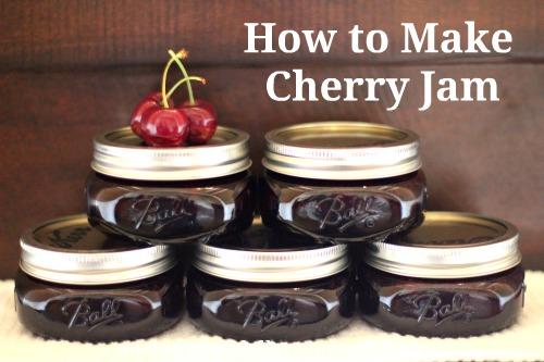 recipe how to make cherry jam