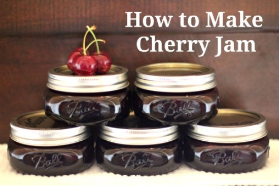recipe how to make cherry jam
