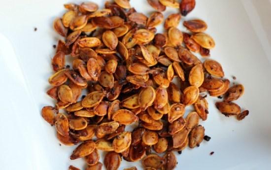 Spiced Pumpkin Seeds recipe