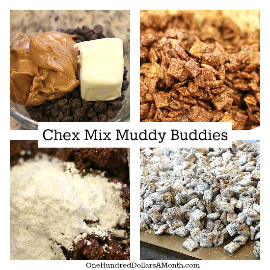 chex mix muddy buddies recipe pictures