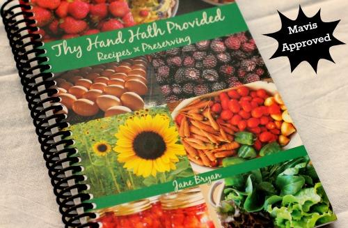 Thy Hand Hath Provided Recipe Book