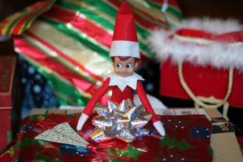 elf on the shelf christmas present