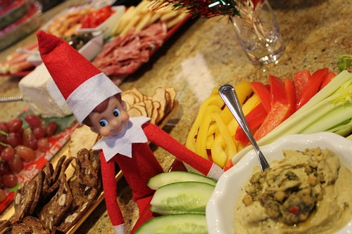 elf on the shelf party