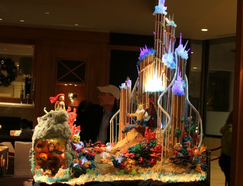Seattle Sheraton Gingerbread Houses The Little Mermaid