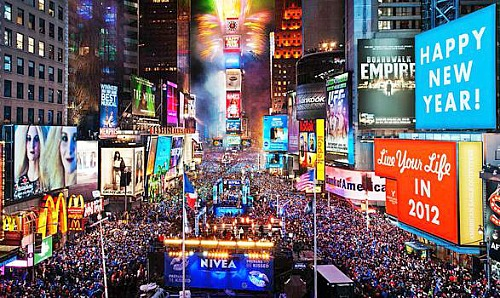 new york - new year's eve