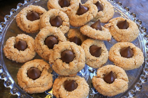 25 Days Of Christmas Cookies Peanut Butter Blossoms One Hundred