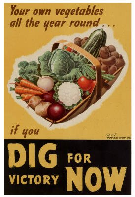 Dig for Victory WWII War