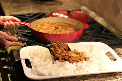 curry chicken and rice recipe
