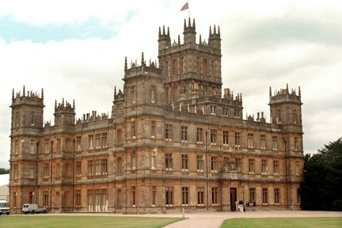 downton abby castle
