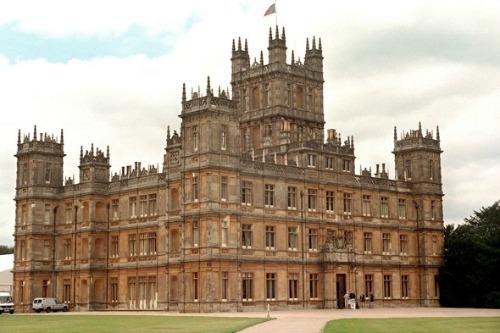 downton abby castle
