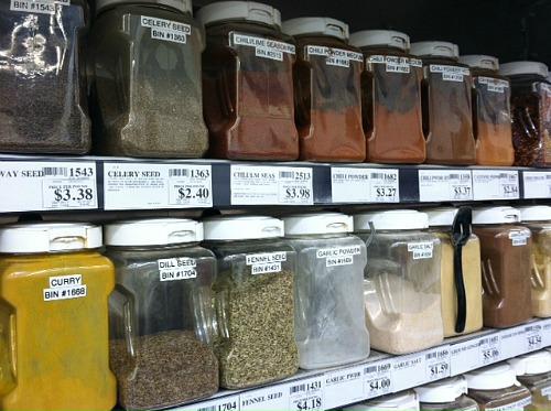 winco spice bins