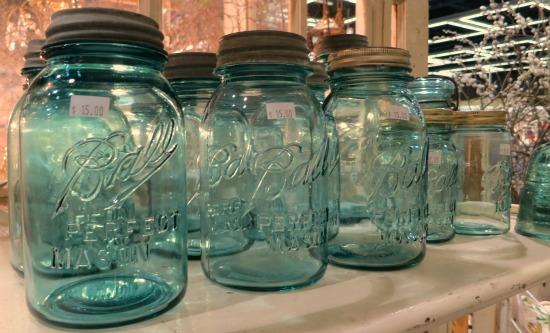 blue ball canning jars zinc lid
