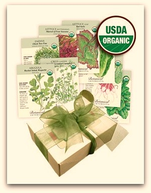organic vegetable seeds garden