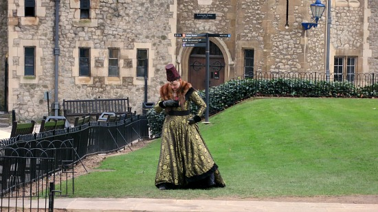 the tower of london costume