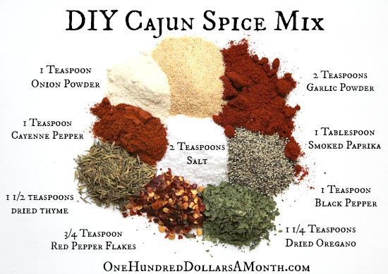 DIY Cajun Spice Mix Recipe