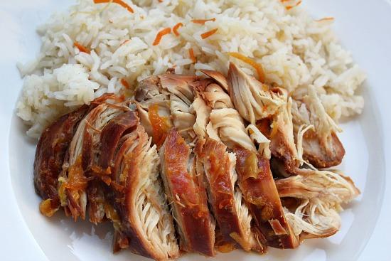 Easy Crock Pot Recipes - Chicken with Orange Marmalade