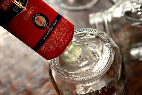 diy how to make redneck wine glasses