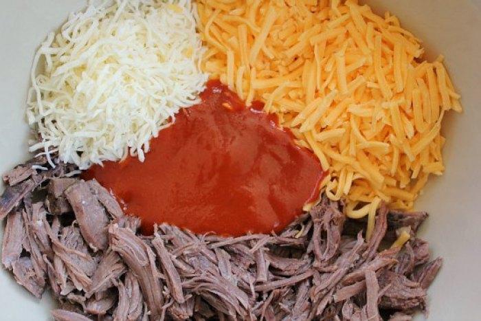 Freezer Meal - Beef Enchiladas