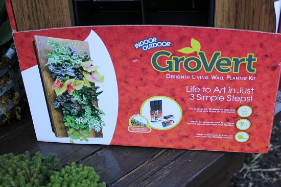 Grovert living wall planter frame