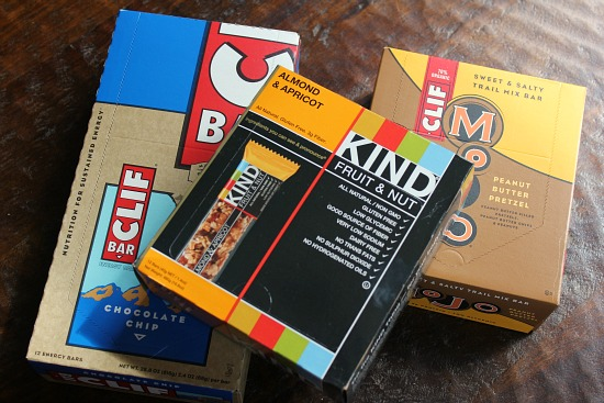 case of clif kind mojo bars