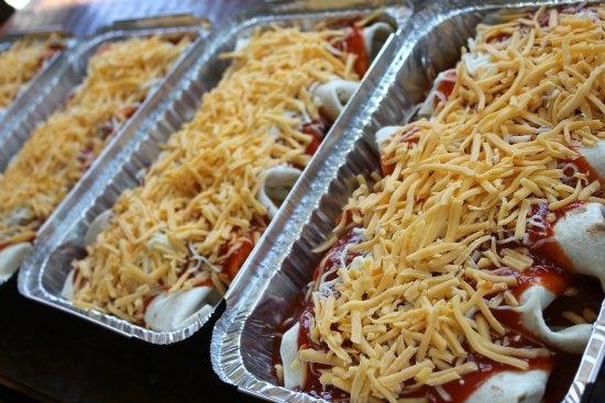freezer Meals Chicken Enchiladas
