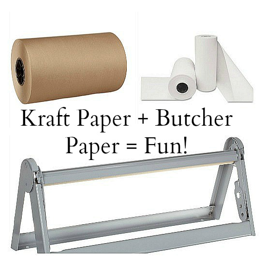kraft butcher paper