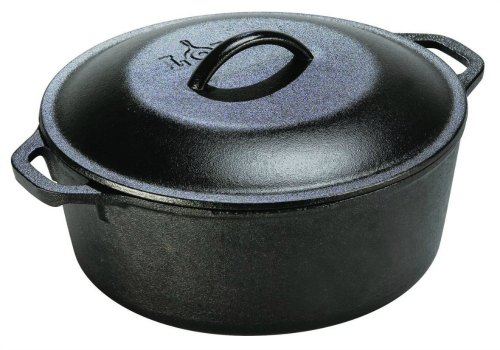 lodge logic cast iron dutch oven