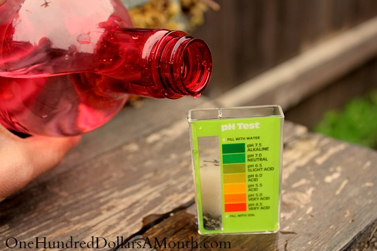 how to change ph level of soil