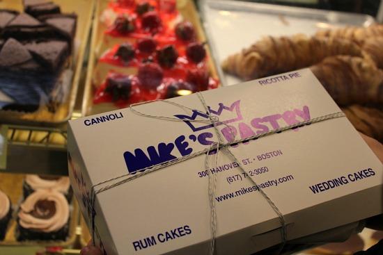 mike's pastry box boston Massachusetts