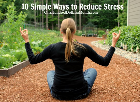 10 Simple Ways to Reduce Stress