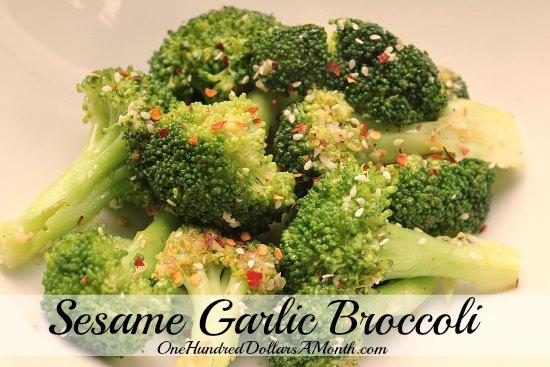 Sesame Garlic Broccoli