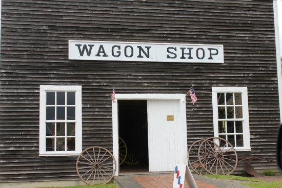 the wagon shop Steilacoom, Washington