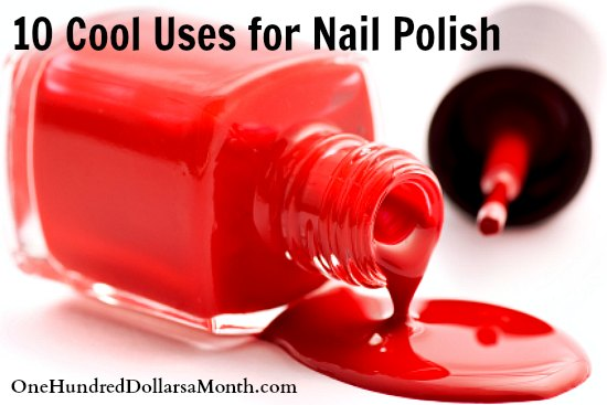 10 Cool Uses for Nail Polish