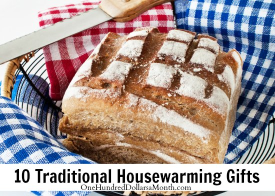10 traditional housewarming gifts one hundred dollars a month