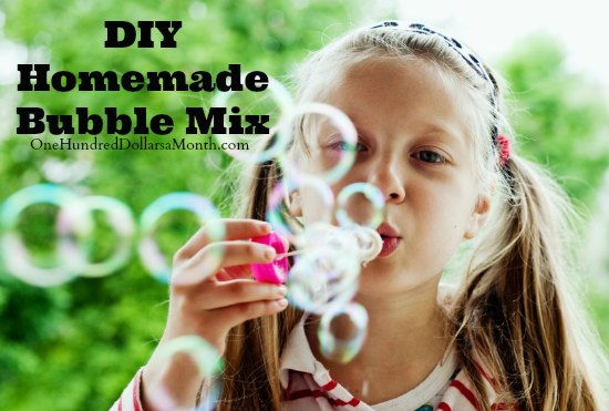 DIY – Homemade Bubble Mix for Kids