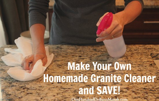DIY - Homemade Granite Cleaner