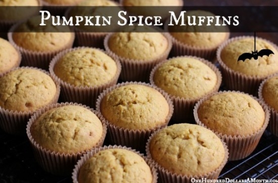 Easy-Muffin-Recipes-Pumpkin-Spice-Muffins