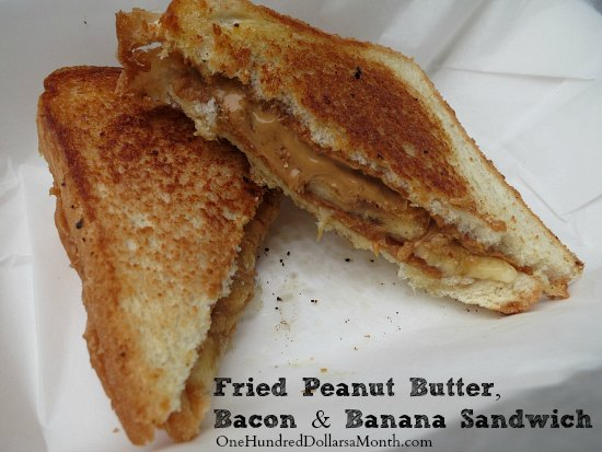 Recipe Elvis Presley's Fried Peanut Butter, Bacon and Banana Sandwich