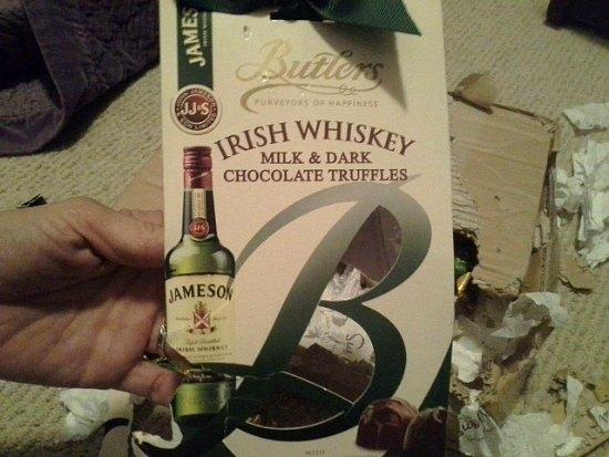 butlers irish whiskey truffles